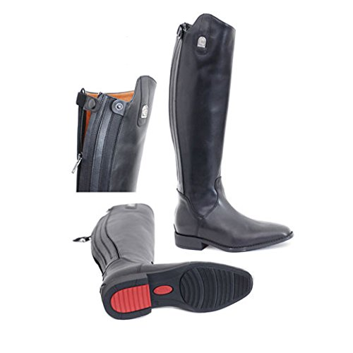 PS schwarz Summer riding leather Cavallo boots xXqB1qY