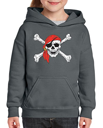 Mom's Favorite Christmas Hoodie Jolly Roger Skull Crossbones Halloween Ugly Sweater Xmas Party Youth Hoodies Sweater ()