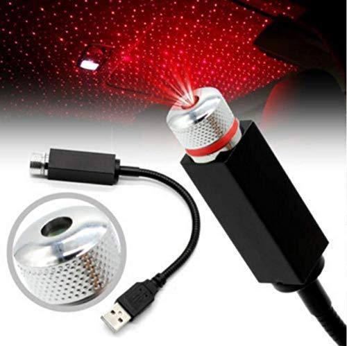 LXCN® Star Decoration Light, 12V LED Car Atmosphere Lamp, 360 degree Rotation Use for USB Disco Light/Night Light/Room…