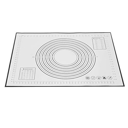 Siliconen bakmatten, antislip gebak mat met meting voor bakbenodigdheden 23×31 inch (zwart)