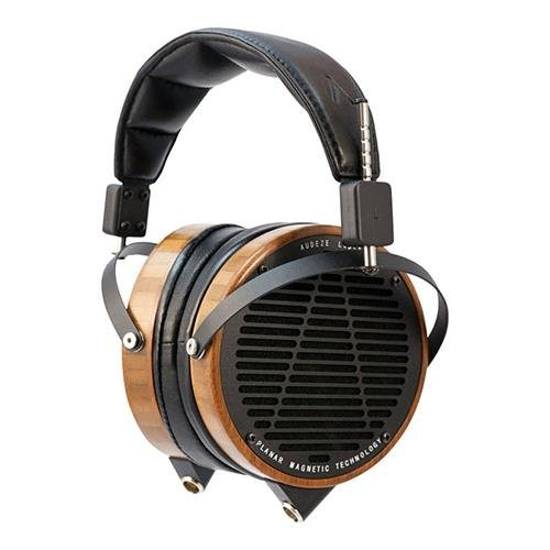 AUDEZE LCD-2 High-Performance Planar Magnetic Headphones with Travel Case, 5Hz to 20kHz Frequency Response, 70Ohms Impedance, Bamboo and Lambskin Leather by Audeze LLC