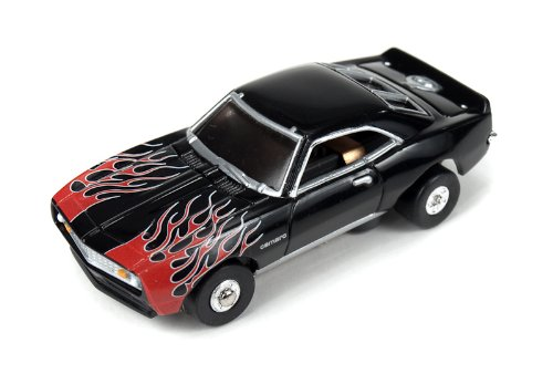 Thunderjet 500 R7 '68 Chevy Camaro Flames (Black)
