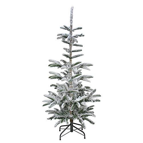 Northlight 6.5' Flocked Noble Fir Artificial Christmas Tree - Unlit ()