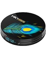 HK1 RBOX Android 11.0 TV Box 8GB RAM / 64GB ROM RK3566 Quad-Core Ondersteuning 2,4 Ghz / 5 Ghz Wifi Bluetooth 4.0, 8K HDMI Smart TV Box,8gb+64gb