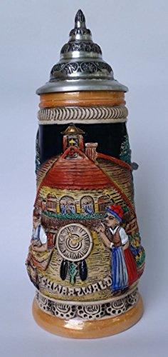 (King-Werks Black Forest Cuckoo Clock Stein | .5 Liter (Model 305/U))