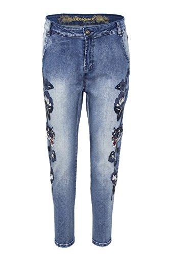 18wwdd38 Desigual Amy Denim Jeans Donna wYUI1