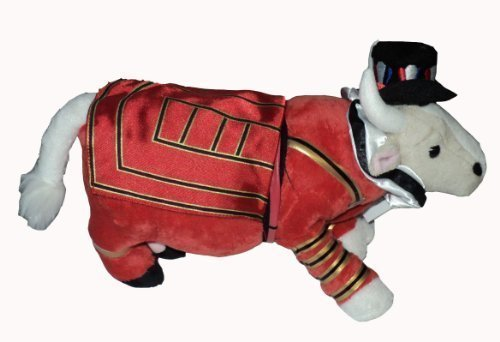 Cow Parade Beefeater It Ain't Natural Plushie, London 2002 by Cow - Natural Beefeaters