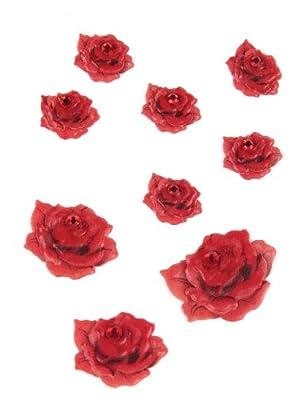 Jolee's Boutique Scrapbooking Embellishment, Mini Red Roses