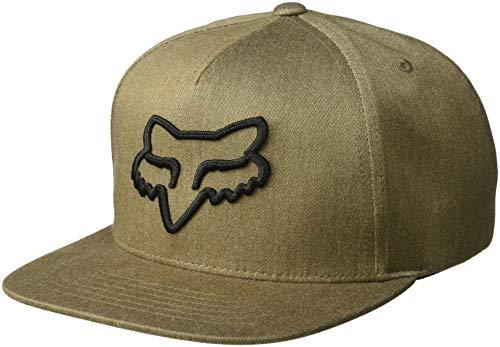 Hat Adjustable Fox - Fox Men's INSTILL Snapback HAT, bark, OS