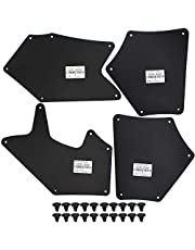 Fender Liners Splash Shield for Toyota Tundra XK50 Sequoia XK60 2007-2020 Apron Seal Skirt Mud Flaps Guards Mudflaps Splash Seals OE# 53737-0C030 53736-0C030 53739-0C020 Clips Retaining Retainer
