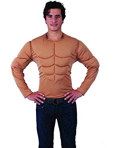 Orion Costumes Mens Padded Muscle Chest Shirt Top for Army -