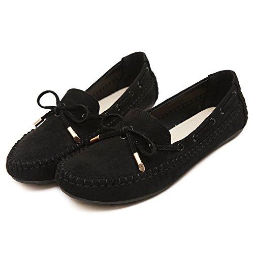 Makegsi Stora Kvinnor Loafers Balett Lägenheter Kör Skor Kvinnor Lägenheter Oss Storlek 11 Black