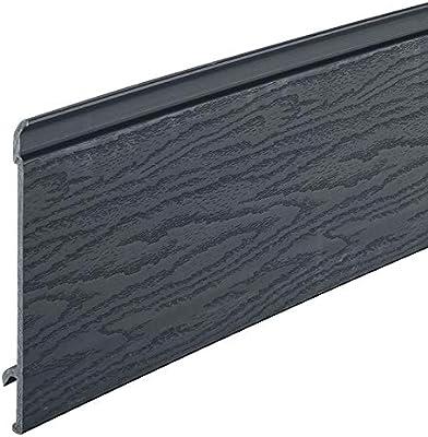 Anthracite Grey Coastline Shiplap Cladding Composite Board Grained Texture With Fire Retardant Amazon Co Uk Diy Tools