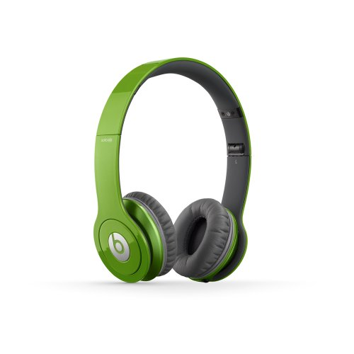Beats Solo HD Wired On-Ear Headphone - Green (Discontinued by Manufacturer)