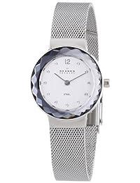 Skagen Women's 456SSS Applied Genuine swarovski CrystalHour Markers Watch