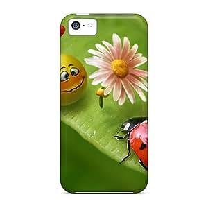 [hCP6690oUWN] - New Smile Lady Bug Protective Iphone 5c Classic Hardshell Case