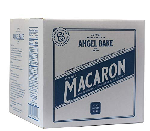 Angel Bake Professional French Macaron Cookie Mix with Buttercream