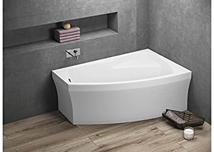 Angolare Per Vasca Da Bagno : Whirlpool angolare vasca da bagno dx sx con ugelli per