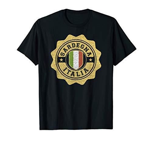 Sardegna Italia T-Shirt - Varsity Badge Sardinia Italy Tee