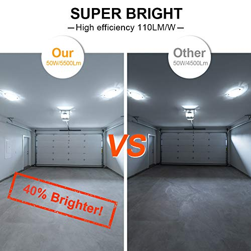 50W Super Bright LED Corn Light Bulbs(400 Watt Equivalent) - E26/E39 Mogul Base LED Bulbs - 6500K Daylight 5000 Lumens… 5