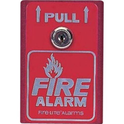 FIRE-LITE BG-8 Manual Pull Station, Single-Action, Alum