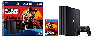 PlayStation 4 Pro 1TB Console Red Dead Redemption 2 + $50 GC