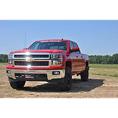 """Rough Country 1305 2.5"""" Suspension Leveling Lift Kit (Factory Cast Steel Control Arm Models): Rough Country: Automotive"""