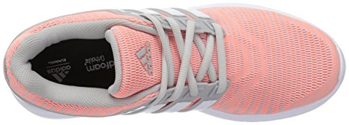 Adidas Performance Women's Energy Cloud V Running Shoe, Grey Two/White/Sun Glow, 8.5 Medium US