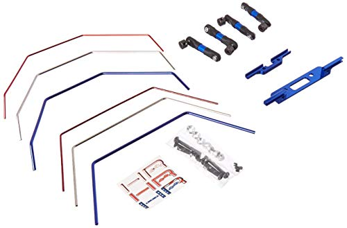 Hot Racing Te311Slc Front and Rear Wide Sway Bar for Traxxas Slash 2WD