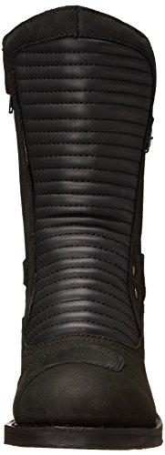 Snelheid En Kracht Speed Society Dames Motorlaarzen Laarzen (zwart, Maat 9)
