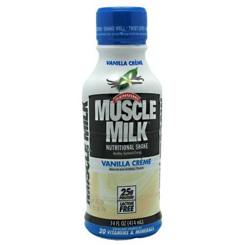 Rtd Vanilla Creme (CytoSport Muscle Milk RTD Vanilla Creme 12- 14 oz (414 mL) Bottles)