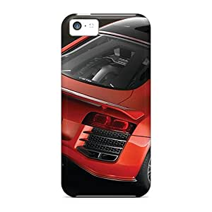 Iphone 5c MhM13078DXID Custom Attractive Audi R8 Pictures Protective Hard Phone Cover -DannyLCHEUNG
