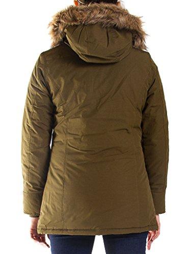Normale Jeans Parka Couleur 482 Taille Femme Unie Pour Longue 776 Manche Vert Carrera 8gdwaqWg