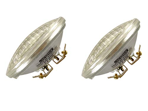 Vstar LED PAR36 9W (Eq to 50W Halogen) 12V Warm White Lamp,Pack of 2