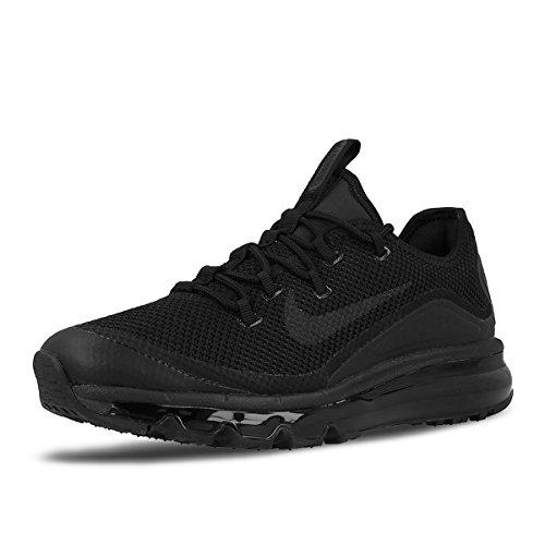 Nike Herren Air Max More Trainer Schwarz (Black)