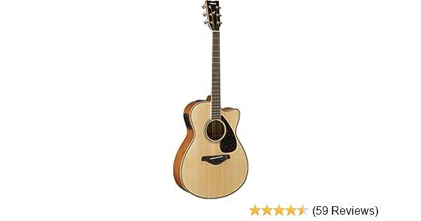 Acoustic Electric Guitars Analytical Yamaha Fsx820c Concert Cutaway Acoustic Electric Guitar Brown Sunburst Finish Grade Products According To Quality