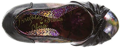Choice Pants Smartie Irregular Black Closed Floral Women's Black Pumps Toe fqTHEdw