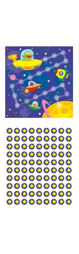 Carson Dellosa Out of This World Mini Incentive Charts (148006)