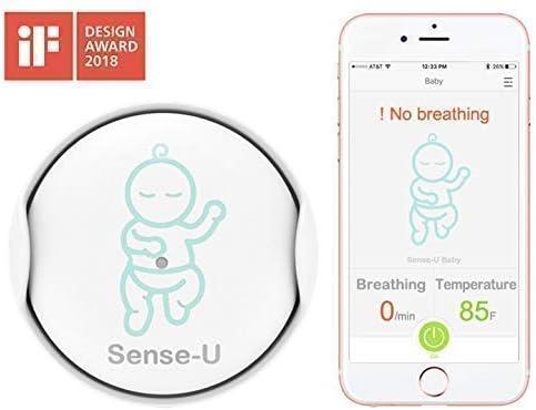 Sense-U Baby Monitor integrado del movimiento de respiración ...