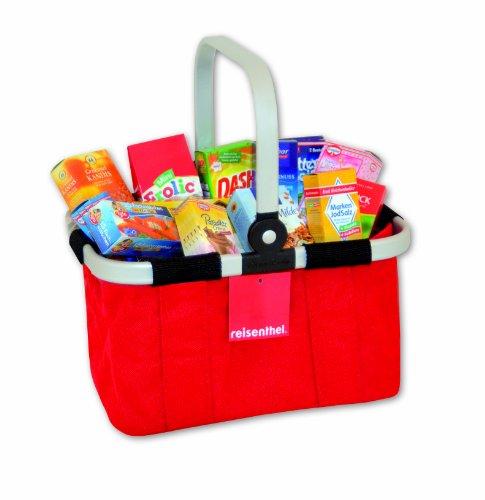 Tanner / Reisenthel 4080.7 - Original Reisenthel Carry Bag, gefüllt mit hochwertigen Markenminiaturen, rot