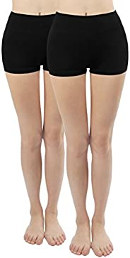 4How Womens Custom Size Cotton Spandex Stretch Short Leggings for Dance Ballet Jazz Yoga Pilates