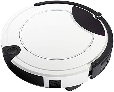 Zhouzl Maison Intelligente TC-450 Smart Aspirateur à écran Tactile Robot Nettoyeur ménager avec télécommande Maison Intelligente (Couleur : Red) Blanc