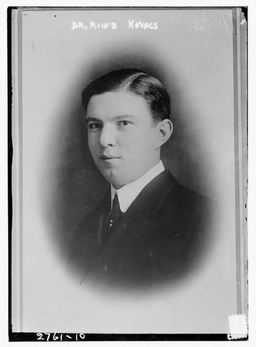 Photo: Dr. Richard Kovacs,1884-1950,specialist in physical therapy,NY Polyclinic School