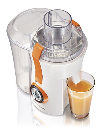 Hamilton Beach 67603 Big Mouth Juice Extractor, White