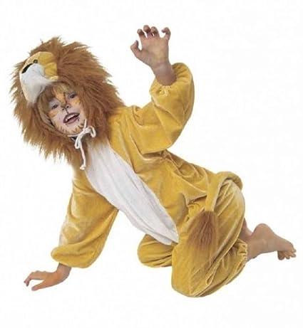 Niños Disfraz Mono León Talla 98: Amazon.es: Juguetes y juegos