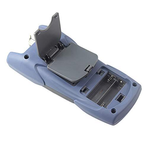 Baosity Portable AUA-9 Optical Fiber Power Meter Tester Measure -70dBm~+10dBm + 1mW 5KM Visual Fault Locator Fiber Tester Detector Meter Pen Black by Baosity (Image #8)