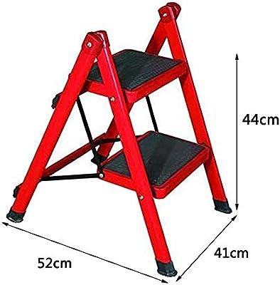 Heces STEP/Escaleras, Escalera Portátil Plegable Hogar, Escalera De Tijera De Doble Uso, Patas De La Escalera De Dos Pasos, Escalera De Escalera Plegable: Amazon.es: Bricolaje y herramientas