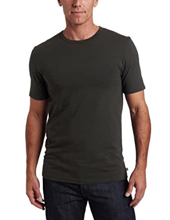 Dockers Men's Performance Crew T-Shirt, Olive Green, X-Large