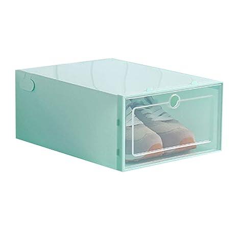 Royalr Zapatos Flip Caja Transparente del Zapato del cajón Caja de ...