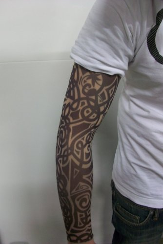 Tribal Tattoo Sleeves (Fake Tattoo Sleeve - Tribal Design)